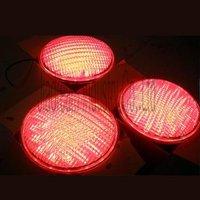 RED Par56 Par 56 led underwater swimming pool bulb light 351pcs led