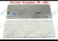 New Laptop keyboard for ASUS EeePC Eee PC 700 701 900 901 White United Kingdom UK Version - V072462AK1
