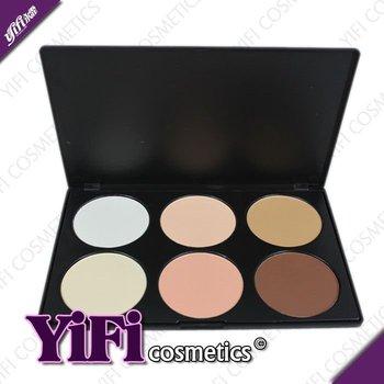 [YIFI] 6 Color Contour Face Power Palette! FACTORY OUTLET! Wholesale, Drop Shipping! 06-2
