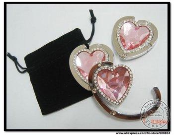 Free Shipping!!! 100% guaranteed quality,12 X foldable purse hanger