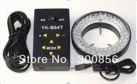 Free shipping !  Microscope  ilumination LED  4 areas can control  led light64pcs