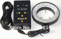 Free shipping !  Microscope  ilumination  LED adjustable Light  144 pcs