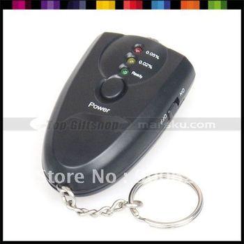 LED DItigal Alcohol Breath Tester Detector Analyzer Breathalyzer with Flashlight #889