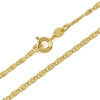 Gold Plated Fashion CC Necklaces For Men Jewelry,Link Necklaces, Free shipping(N18K-14)