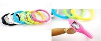 10pcs/lot Silicone Minus ION Sports Wristwatch Bracelet  Digital watch accept mix colors freeshipping !
