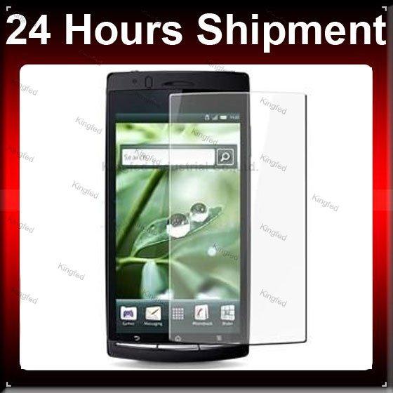 1000 pcs / Lot CLARO Protetor de Tela LCD para Sony Ericsson Xperia Arc X12(China (Mainland))