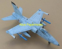 [Alice papermodel] Long 60CM 1:24 Italy trainer fighter AMX aircraft warplane models