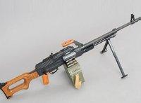 [Alice papermodel] 1:1 Russian PK machine gun weapon models