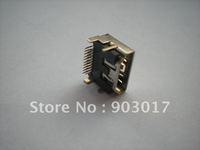 HDMI Female Jack 19 pin Connector 2 rows 90 Degree 10 pcs per lot hot sale