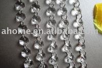 Acrylic Crystal strands / Octagon strands / Wedding Decoration Chirstmas Decoration