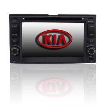 Custom Car DVD Player Radio GPS navigation system with 7'HD LCD for Kia Rondo