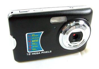 "Christmas Gift!! 2.7"" Face Detection Digital Camera Cam Compact 5.0MP CMOS 12.0MP DC590 Drop Shipping"