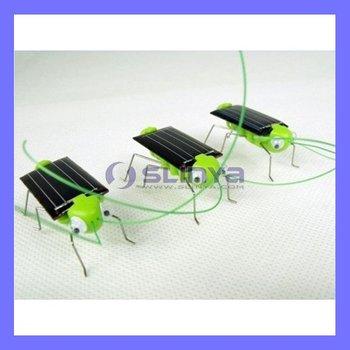 Novelty Educational product Solar Grasshopper Robot Kit Toy