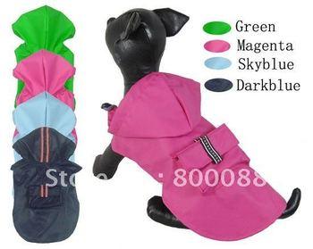 Free Shipping Dog Raincoat Dog Rain Coat