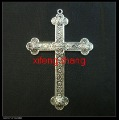 25 pcs/lot alloy tibetan silver Cross charms Free shipping