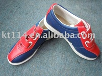 nice full leather bowling shoes with free shipping