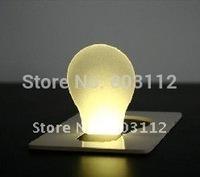 free shipping Portable LED Light/LED card light/Novelty LED light,Christmas gifts