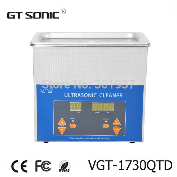 Digital Ultrasonic Cleaner 3L VGT-1730TD for wholesale(China (Mainland))