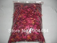 Bath Product Wholesale Dry Flower Leaves Rose Petals For SPA & Wedding Decorate 250g/bag High Quality -FreeShipping 277