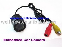 Embedded Car Camera with Night Vision for all cars(dimension 25mm)