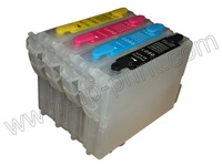 t0611  refillable ink Cartridges for epson D68 D88 DX3800 DX3850 DX4800 DX4850