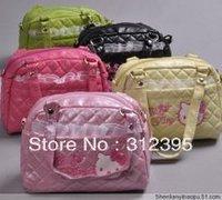 Hot bags 10pcs Hello kitty Shoulder/Tote Dual-Function Bags slingbag handbags Tote
