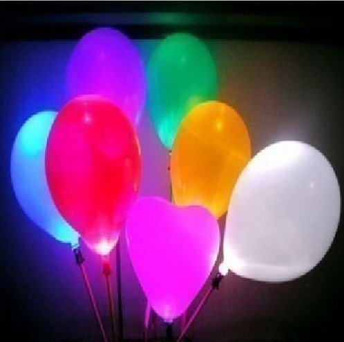 EMS free shipping Led balloon for wedding ,party ,christmas inflatable balloon best quality(China (Mainland))
