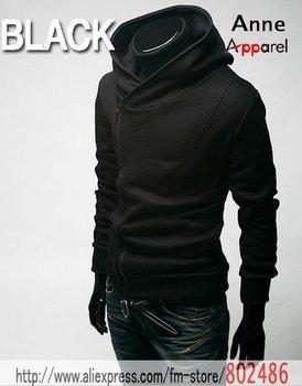 men's jackets High collar coat 2010 arrival top brand men's dust coat,men'soutwear Size M,L XL XXL Hooded clothing jacket JK01