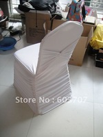 all pleat spandex chair cover with band  wholesale price