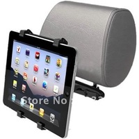 Universal car headrest holder for iPad, Headrest mount for galaxy tab,adjustable size from 16-25cm can mount different size item