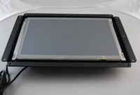 12.1inch open frame touch monitor with VGA/USB/built in aluminium case/AV optional