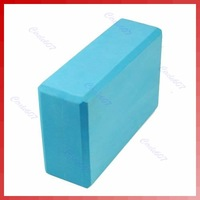 Free shipping! 2pcs/lot! Yoga Block Blue Foaming Foam Block Home Exercise Tool