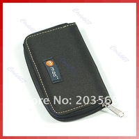 Free shipping! 2pcs/lot! B Nylon Carrying Case Wallet Bag F Memory Card SD CF MS