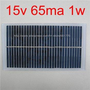 15V 65MA 1W solar panels solar power 12V DC battery free shipping