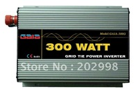 300W Micro Grid Tie Inverter for Solar Power, DC22V-60V to AC 100V 110V 120V  220V,230V,240V , MPPT