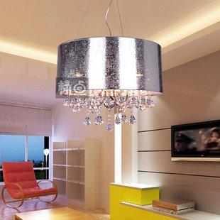 wohnzimmer pendelleuchte mit pp lampenschirm und k9 kristall schlafzimmer h ngeleuchte. Black Bedroom Furniture Sets. Home Design Ideas