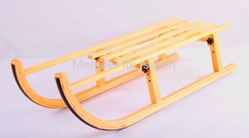 foldable sledge,wood sled