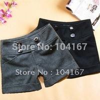 Free Shipping ! Wholesale fashion woolen shorts,