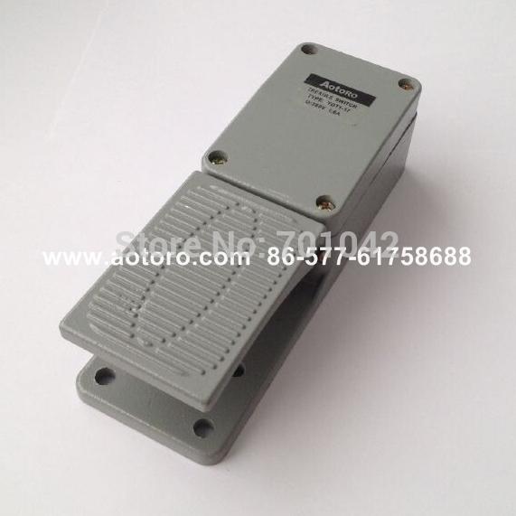 push button YDT1-17 foot switches limit auto aluminium body quality guaranteed(China (Mainland))