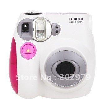 фотоаппарат пленочный Fuji Instax Mini 7S Polaroid + & + + self mini7s фотоаппарат пленочный fuji instax mini 7s polaroid