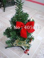 free shipping 12 inch Christmas Tree table tree Christmas Decoration