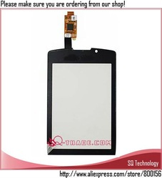 Touch Screen for Blackberry Torch 9800 Digitizer black colour free shipping(China (Mainland))