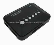 Free shipping, HD Media Player/HDD player /HDD Media Player USB DIGITAL SD AVI TV CARD READER(China (Mainland))