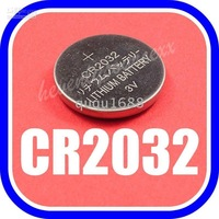 10002  Free Shipping 60lots 1200pcs CR2032 CR 2032 LM2032 ECR2032 Lithium Battery 3v