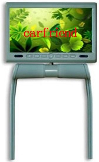 Wholesale 8.5 inches Central Armrest / console car Monitor with DVD MP4 MP3 DIVX WMA JPG GAME USB SD AV-IN swivel 350 degrees(China (Mainland))