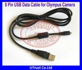 Best Selling New Arrival 8 Pin USB Digital Camera Cable for Olympus Cameras FE15 FE20 FE25 FE35 FE150 FE160