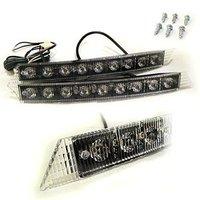 Brand New Car Daytime Running Lights LED High Power Super White Head Lamp For Audi A6 Q7 [CP225]