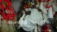 natural jade mobile strap.wholesale price free shipping 100pcs/lot