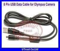 Free shipping New Arrival 8 Pin USB Camera Cable for Olympus Cameras FE350 FE360 FE370 FE3010 FE5000 FE5010