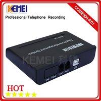 1channel USB Telephone call recording box